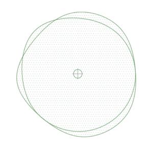 A imagem mostra o Bloco Dinâmico de Árvore, modelo Ameba 1 em fundo branco.