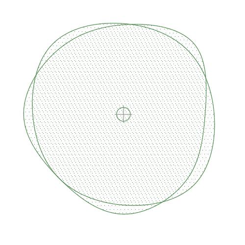 A imagem mostra o Bloco Dinâmico de Árvore, modelo Ameba 2 em fundo branco.