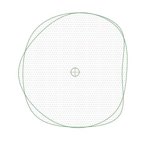 A imagem mostra o Bloco Dinâmico de Árvore, modelo Ameba 3 em fundo branco.