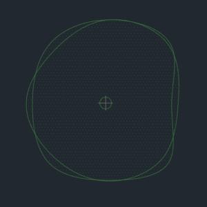 A imagem mostra o Bloco Dinâmico de Árvore, modelo Ameba 3 em fundo padrão.