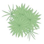 A imagem mostra o Bloco Dinâmico de Herbáceas, modelo combinado em fundo branco.
