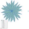 A imagem mostra o Bloco Dinâmico de Herbáceas, modelo simples 1, com grips, em fundo branco.