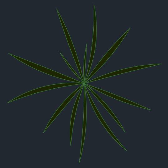 A imagem mostra o Bloco Dinâmico de Herbáceas, modelo simples 2 em fundo padrão.