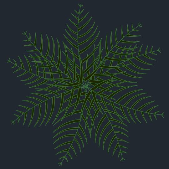 A imagem mostra o Bloco Dinâmico de Palmeira, em fundo padrão.