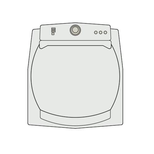 A imagem mostra o Bloco Dinâmico de Máquina de Lavar Brastemp Ative BWG11A, em fundo branco.