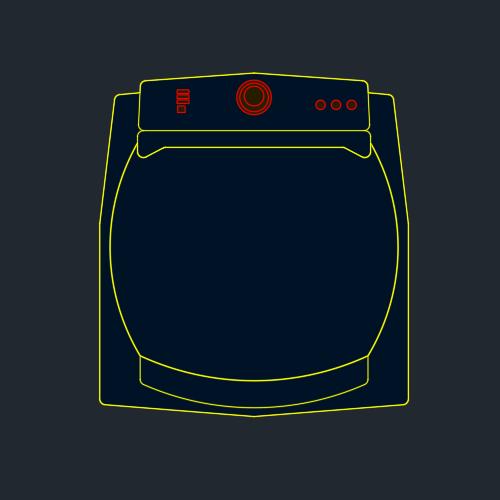 A imagem mostra o Bloco Dinâmico de Máquina de Lavar Brastemp Ative BWG11A, em fundo padrão.