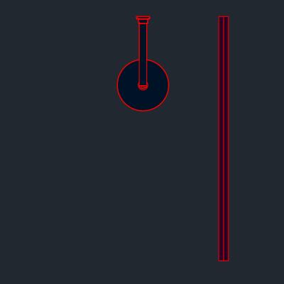 A imagem mostra o Bloco Dinâmico de Box de Banheiro, em fundo padrão.
