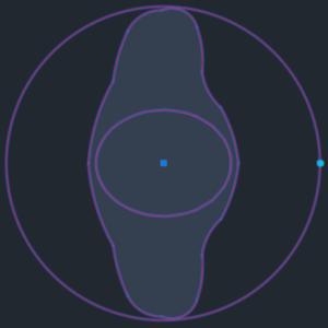 A imagem mostra o Bloco Dinâmico de Figura Humana, com grips, em fundo padrão.