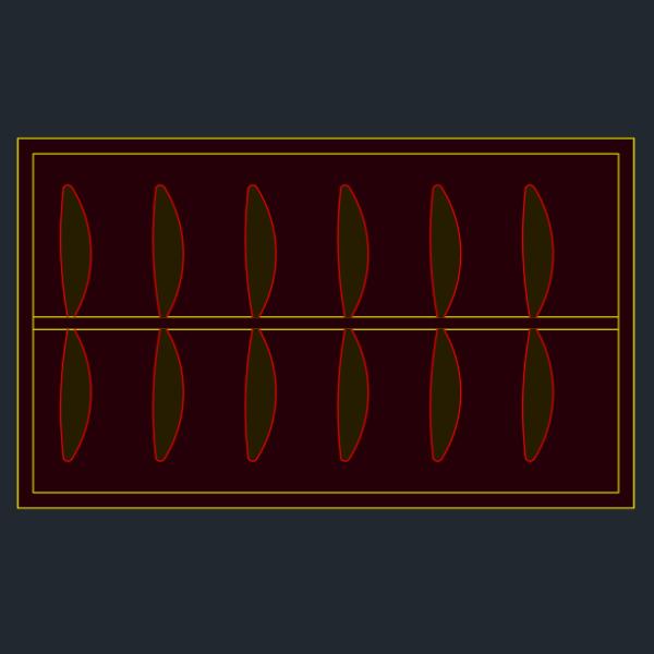 A imagem mostra o Bloco Dinâmico de Armário Guarda-roupa Genérico, em fundo padrão.