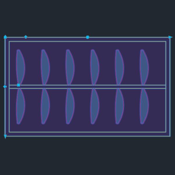 A imagem mostra o Bloco Dinâmico de Armário Guarda-roupa Genérico, com grips, em fundo padrão.