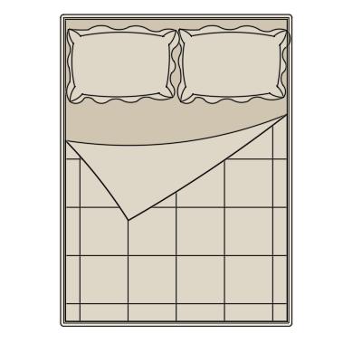 A imagem mostra o Bloco Dinâmico de Camas, em fundo branco.