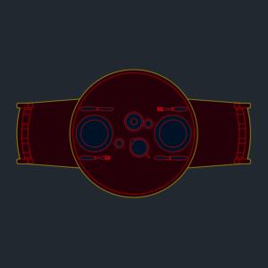 A imagem mostra o Bloco Dinâmico de Mesa Redonda, em fundo padrão.