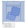 A imagem mostra o Bloco Dinâmico de Sofá Coy Tok&Stok, com grips e opções de tamanho ou lugares, em fundo branco.