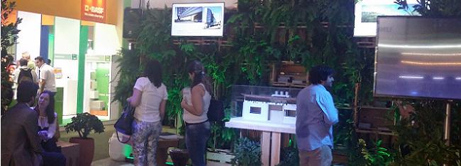 Sustentabilidade na prática na Expo Arquitetura