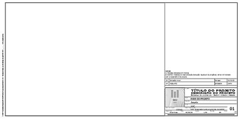 Tutorial dos Templates para projetos complementares - Prancha com carimbo
