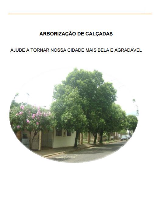 Manual de Arborização :: Uberaba