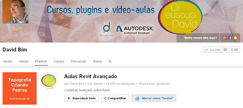 David BIM – 03 – Aulas Revit Avançado